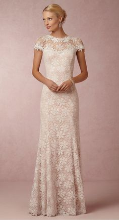 Nova Lace Gown|BHLDN