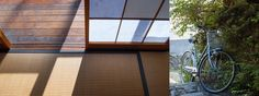 Shadows and textures - Ebisu's Kyoto International Guesthouse