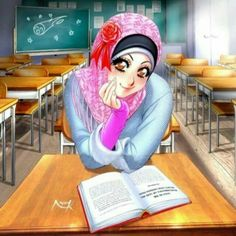 peace be to you, I was planning to start an online Islam and Manga Magazine with a few artists here in dA. Beautiful in Hijab Cartoon Drawings, Cartoon Art, Muslim Pictures, Crown Illustration, Islamic Cartoon, Islam For Kids, Hijab Cartoon, Islamic Girl, Muslim Girls