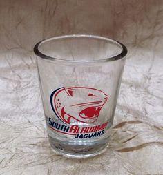 University Of South Alabama Jaguars Shot Glass NCAA #SouthAlabamaJaguars