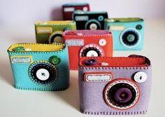 molde de camera fotografica de papel - Pesquisa Google