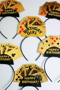 diy Casino Themed Birthday tiara
