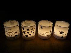 Des envies de petites lumières pour éclairer un automne maussade et pour donner un avant goût de fête à la maison.  Après avoir pris des ...