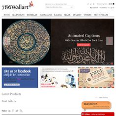 786 Wallart Category: Ecommerce, Platform: Magento