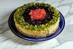 Savory cheesecakes have been around a while, and tend to show up during the holidays because of their indulgent richness. Mexican Cheesecake Recipe, Savory Cheesecake, Savory Crepes, Savoury Cake, Cheesecake Recipes, Cold Appetizers, Appetizers For Party, Appetizer Recipes, Snack Recipes