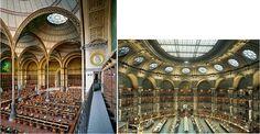 Universo Literário: A França e as suas belas bibliotecas