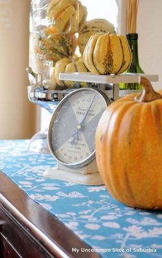 Simple Fall Vignette, easy to create!: Simple Fall Vignette, easy to create!