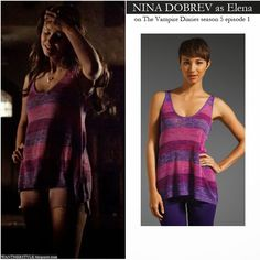 elena gilbert fashion season 5 - Google Search