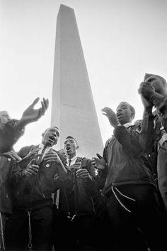 """Image: """"March on Washington, Washington, D.C.,"""" 1963 © Hiroji Kubota/Magnum Photos"""