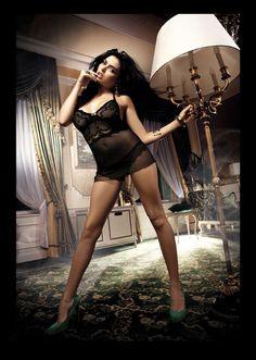 50 Secrets of Kinga - Move set. Kinga Lingerie de Femme erotic line.