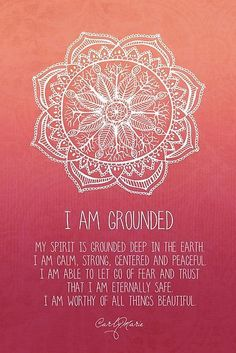 I Am Grounded - Root Chakra - Inspiration for the Bhakti lifestyle | drinkbhakti.com
