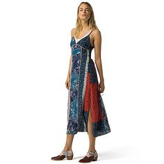 Image for SILK PATCHWORK DRESS from Tommy Hilfiger