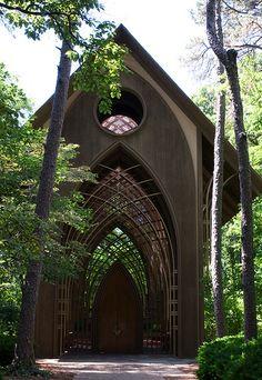 Mildred Cooper Memorial Chapel (Arkansas) - Fay Jones - 1988