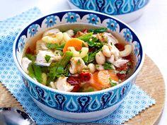 Gemüsesuppe - leckere Vitamine zum Löffeln - schrebergarten-sueppchen  Rezept