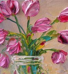 Impasto Tulips