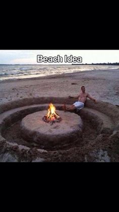 Cool idea for the beach