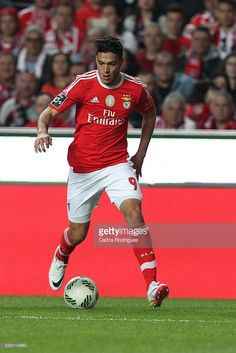 Benfica's forward Raul Jimenez during the match between SL Benfica. Age, Sports, Sport