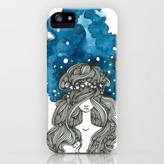 Starry Night iPhone Case by PiqueStudios - $35.00