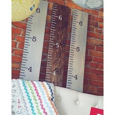 Wood Growth Chart - Customized Growth Chart Ruler - Children's Decor - Nursery Decor - Baby Gift