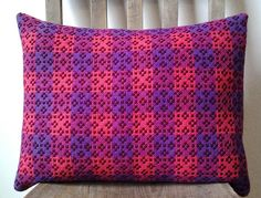 Original Handmade Cushion from Vintage Welsh by archersarchive, £30.00