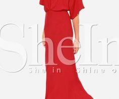 Red Short Sleeve V Back Maxi Dress. Fashion : Dresses : Red Short Sleeve V Back Maxi Dress - See more at: http://spenditonthis.com/cat-13-fashion-newest.html#sthash.w5qQhEjP.dpuf