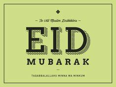 Eid Mubarak by Chai Ahmad