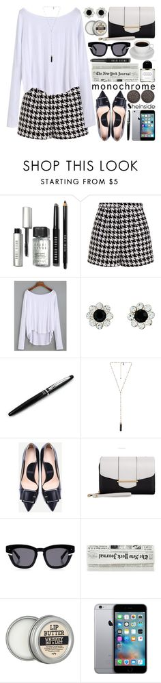 """""""Black and White Shein"""" by gorgeautiful ❤ liked on Polyvore featuring Bobbi Brown Cosmetics, Emma Cook, Accessorize, Natalie B, Kardashian Kollection and Grey Ant"""