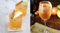 Lika goda som vackra att se på. Här är höstens härliga drinkar gjorda på cava. Cocktail Night, Cocktail Drinks, Alcoholic Drinks, Beverages, Cocktails, Fabulous Foods, Yummy Drinks, Gingerbread Cookies, Food Inspiration