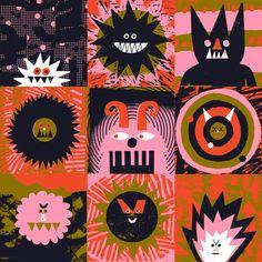 Rob Hodgson, Evil monster patchwork