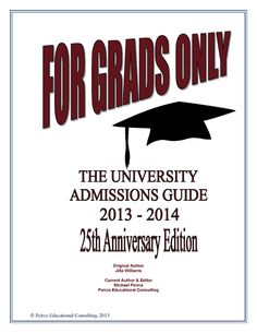 """Very proud that last year we published the 25th anniversary edition of """"For Grads Only""""!"""