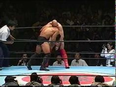 ▶ Bas Rutten vs Frank Shamrock - King of Pancrase Finals - YouTube