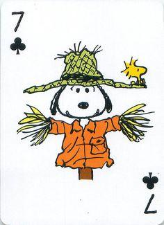 https://flic.kr/p/dd2Adq | Peanuts Great Pumpkin Playing Cards | From the Peanuts Great Pumpkin card deck set.