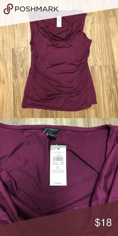 NWT Ann Taylor Shirt New with tags! Size Large, but could fit a medium. Ann Taylor Tops Tank Tops