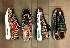 "ATMOS X NIKE AIR MAX ""ANIMAL PACK 2"" DROPPING IN 2018"