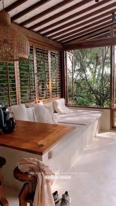 Dream Home Design, Modern House Design, Home Interior Design, Interior And Exterior, Wood House Design, Modern Tropical House, Tropical House Design, Tropical Homes, Hotel Architecture