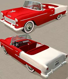 55 Chevy BelAire Convertible