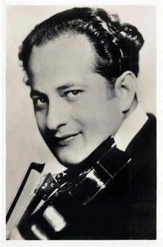 Albert Sandler, violinist.