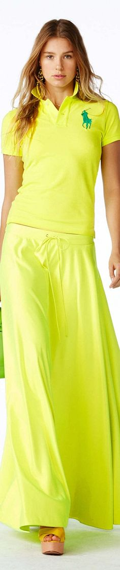 Color fashion Glam     ...                                       Polo Ralph Lauren Collection Spring 2015 Ready to wear