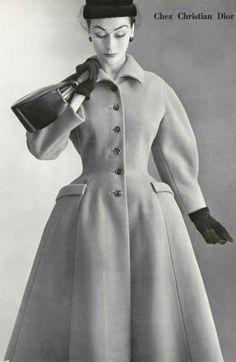 Dior Wool Coat 1952