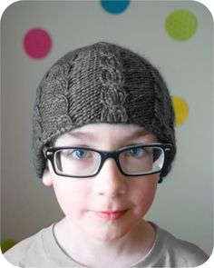 The Jongen Hat PDF Knitting Pattern - pinned by pin4etsy.com
