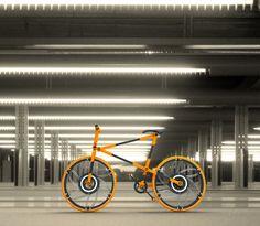 Una bicicleta plegable... ¿O de bolsillo?