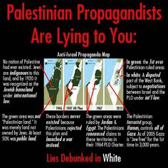 """Palestinian propagandists have been spreading a map purporting to show how Jewish self-determination has resulted in """"shrinking Palestine"""". That map, like most if not all of Palestinian propaganda, is a lie. See why. Know the truth. Christian Organizations, Understanding The Bible, Self Determination, Political Satire, Know The Truth, Judaism, Encouragement, Thoughts, Feelings"""