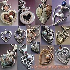 Creators of Unique & Original Jewelry Heart Jewelry, Stone Jewelry, Jewelry Art, Jewelry Design, Jewelry Ideas, Unusual Jewelry, Modern Jewelry, Silver Jewellery Indian, Silver Jewelry