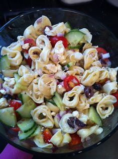 It's The Little Things: Greek Tortellini Salad
