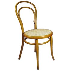 1stdibs.com | Thonet Bentwood Side Chair No. 14 - The No. 14 chair is the most famous chair made by the Thonet chair company. Also known as the bistro chair, it was designed by Michael Thonet and introduced in 1859.