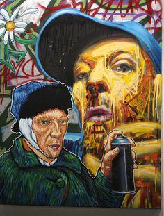 Meet Arnaud Rabier Nowart, a graffiti and street-art artist from Clichy (FR)