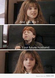Harry Potter #meme haahahah Hermoine's future