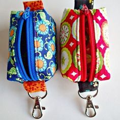 Tutorial - How to Make Tiny Zipper Pouches