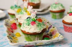 Jelly Bean Cupcakes | Coupon Clipping Cook