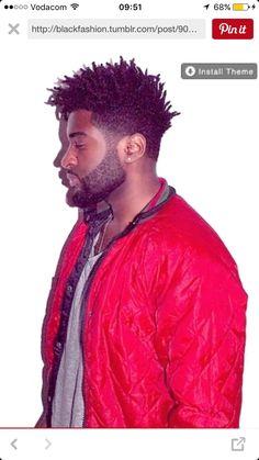 Tee shirt by Zara Bombers by Panopli Harry Samba, France Black Men Haircuts, Cool Mens Haircuts, Stylish Haircuts, Black Men Hairstyles, Dread Hairstyles, Men's Haircuts, Natural Hair Men, Pelo Natural, Natural Hair Styles